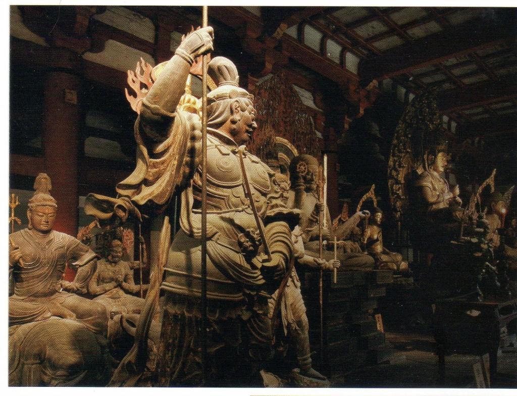 東寺の金堂の立体曼荼羅