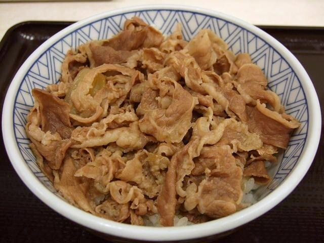 神戸らんぷ亭の牛丼