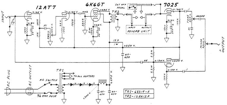 チューブギターアンプエフェクト » 真空管ギターアンプ製作